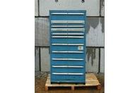 LISTA 11 Drawer Industrial Tool Storage Chest , Cabinet