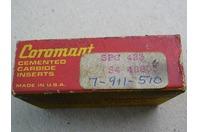 Sandvik Coromont   Cemented Carbide, Qty: 9  Inserts  S4 40803 , SPG 423