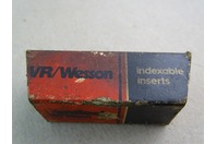 VR/Wesson  Indexable  Inserts  , VR75