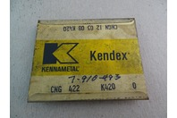 Kendex Kennametal  Carbide Inserts  , K420 CNG 422