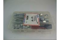 Metallics  Threaded Rod Anchoring Kit for Wood & Steel  , SMSK1
