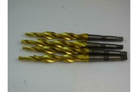 Solid  Carbide Flute Extra long  Tin Coated , Step Drill