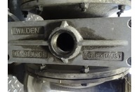 """Wilden  316-SS 1-1/2""""Flange, Air Operated Double Diaphragm Pump , 04-3185-01"""