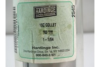 Hardinge  Round Collet  RD SM 1-1/64 , 16C