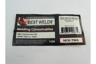 Best Welds  Welding Consumables, 400A Mig Gun Neck Tube , MCK-TW4