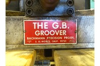 Bachmann Precision G.B. Groover Pipe Grooving Tool  , Model B