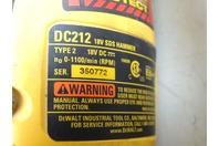 DeWalt  18v Cordless SDS Hammer Drill & Bits.  Battery not included.  , DC212