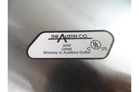 The Austin Co.  Stainless Wireway Auxillary Gutter Connector , 39XF