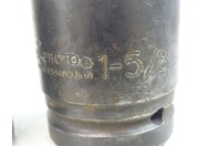 """(3) Proto  6-Point Heavy Impact Sockets 1"""" Drive 1-1/2"""", 1-5/8"""", 10024"""