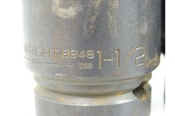 """(7) Wright  6-Point Impact Socket Set,  1-1/2"""" to 1-15/16"""" 1"""" Drive , 8848"""