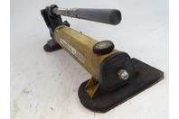 Enerpac  Two Speed Hydraulic Hand Pump, Hose & Gauge , P-392