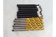 (7) Guhring  TiN Coated Drill Bits , .5660""