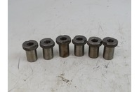 (6) AA  Slip-Fixed Renewable Drill Bushings , 19/32