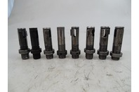 (8) Seibert  Morse Taper on Acme Drill Shank , Holders