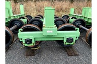 Rail Car Dummy Truck, 4-Wheel Bogie, Short & Tall Pillar Height