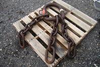 "ACCO Triple Leg 150,000 LB. Demolition Magnet Chain Sling 4' 2"""