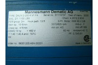Demag KBK Crane Kit - Mannesmann Dematic 460V Cap.1100Lbs Chain Hoist DKUN2-250K