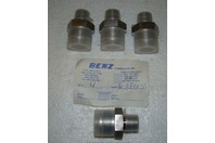 (4) Benz Hydraulics Stainless Fittings, 168FTX-SS