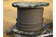 """1 1/2"""" Cable Wire rope 6 x 19 Fiber Core 600+ FT"""