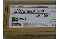 "(72) Lincoln Superarc LA-100 1/16"" Welding Wire ED028935,  Pallet Quanity"