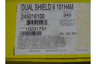 (72) Esab Dual Shield II 101H4M .045 Flux Welding Wire 245016100, Pallet Quanity