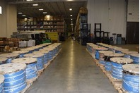 """1-1/8"""" x 550' STEEL CABLE 6x26 IWRC Compacted & Swaged Wire Rope"""