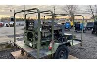 10 KW Diesel Army Generator, Trailer Mounted 3-PH GenSet MEP-003A