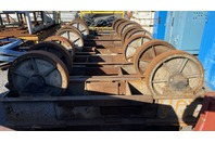 Large Turning Roll, Rollers for Rail Car Tanker Fabrication