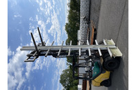 16' Cantilever Racking System, Narrow Isle Storage Complete System