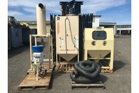 EMPIRE Pro Finish Soda Blast System ARMEX Accustrip Complete Filtration Reclaim