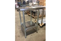 "Select Stainless 24X18"" Commercial Stainless Steel Table,NSF,UL, PL-1.5KDWT-24-G"