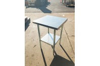 "Select Stainless 24 X 24"" Commercial Stainless Steel Table,NSF,UL, PL-2KDWT-24-G"