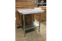 "Select Stainless 30X30"" Commercial Stainless Steel Table,NSF,UL, PL-2.5KDWT-30-G"