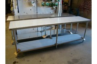 Select Stainless 96 X 24 Commercial Stainless Steel Table,NSF,UL, PL-8KDWT-24-SS
