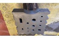 647 LB. Swage Block, 24x24x5 Ductile Iron