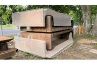 "12-1/2 FT Trench Box 12'8"" x 8' Manhole Trench Shield"