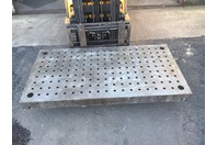 2000mm x 1000mm Threaded Platen Cast Iron Layout Table