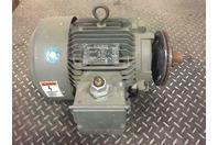 Siemens 7.5 Electric Motor 1735 RPM, 220-230/440-460v, 3PH, 60Hz , RGZ