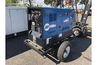 Miller Big Blue 400D DC Welder CC/CV, 2014 Duetz Diesel & Trailer