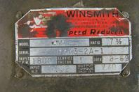"WinSmith  Gear Reducer Ratio 7 1/2 "" , 4MCT"