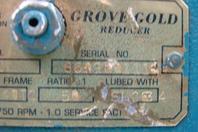 Grove Gear Division  Gear Reducer , HM230