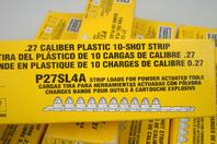(13) Simpson Strong-Tie  Caliber Plastic 10-Shot Strip  , P27SL4A
