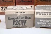 (15) Ramset  Assortment of Crimped Power Loads  , 22AC1, 22CW, 12 CW