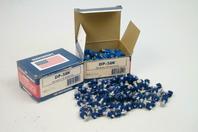 """(2) Masterset Inc.  Fasteners  .300 head x 5/8"""" knurled pin , DP-58K"""