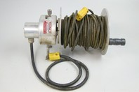 Alumna Reel  Remote Box Electrical Cord Reel  Holds 200' of 12/3, EC6100