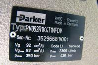 Parker  PV Plus Axial Piston Hydraulic Pump , PV092R1K4T1NFDV