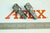(2) APEXUSA  Industrial Socket Extension  3/8, EX-376-2