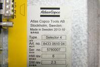 Atlas Copco  Selector 4  , 8433 0610 04