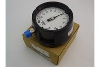 """USG U.S. Gauge  Process Gauge  4.5"""" 30HG/15PSI 1/2LM , 1981"""