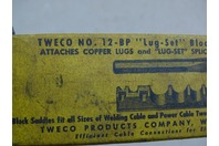 Tweco  Lug- Set, Block and Punch Set  , No. 12-BP